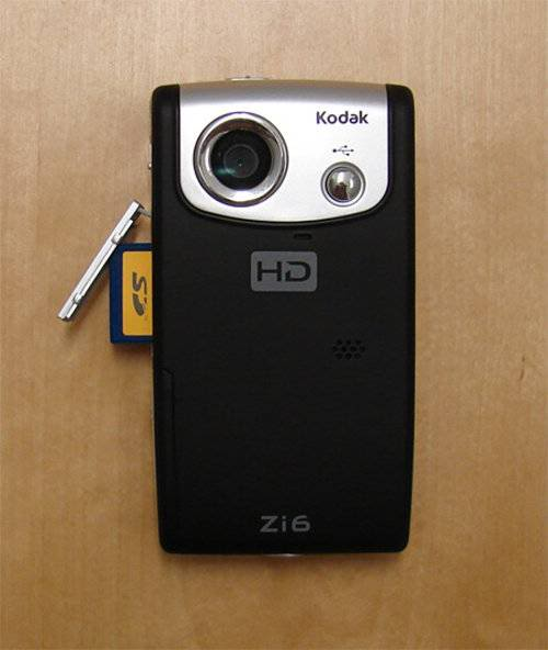 Kodak Zi6 Pocket Video Camera