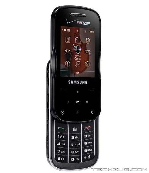 Samsung Trance U490 Verizon Slim Slider Phone