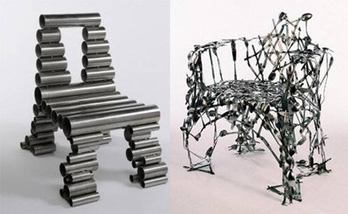 British Designer Osian Batyka Williams Uses Hard To Recycle, Unwanted  Objects To Create Beautiful And Unique Chair Designs.